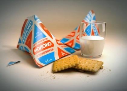 Изображение пакета молока